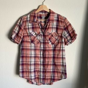 Women's Carhartt Plaid Shirt